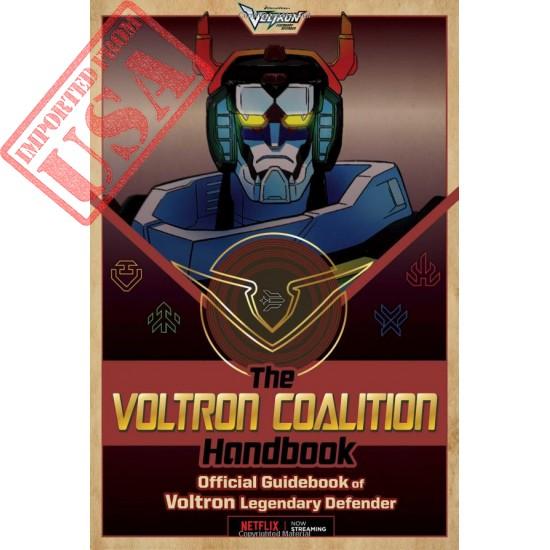 The Voltron Coalition Handbook: Official Guidebook of Voltron Legendary Defender sale online in Pakistan