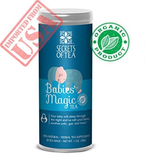 Buy Babies Magic Tea Secrets of Tea Baby Colic Babies Imported USA, Sale Online In Pakistan