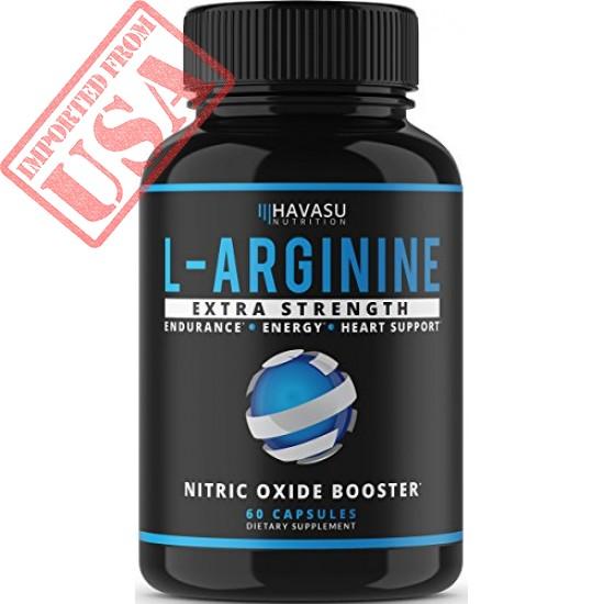 Buy Havasu Nutrition Extra Strength L Arginine Supplement for Muscle Growth Online in Pakistan